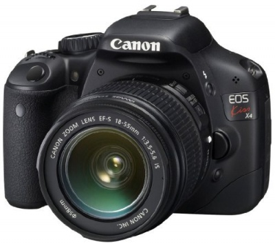 Canon EOS Kiss X4 (Rebel T2i / EOS 550D) (EF-S 18-55mm F3.5-5.6 IS) Lens Kit