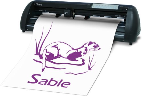 sable - Decal, Máy cắt decal